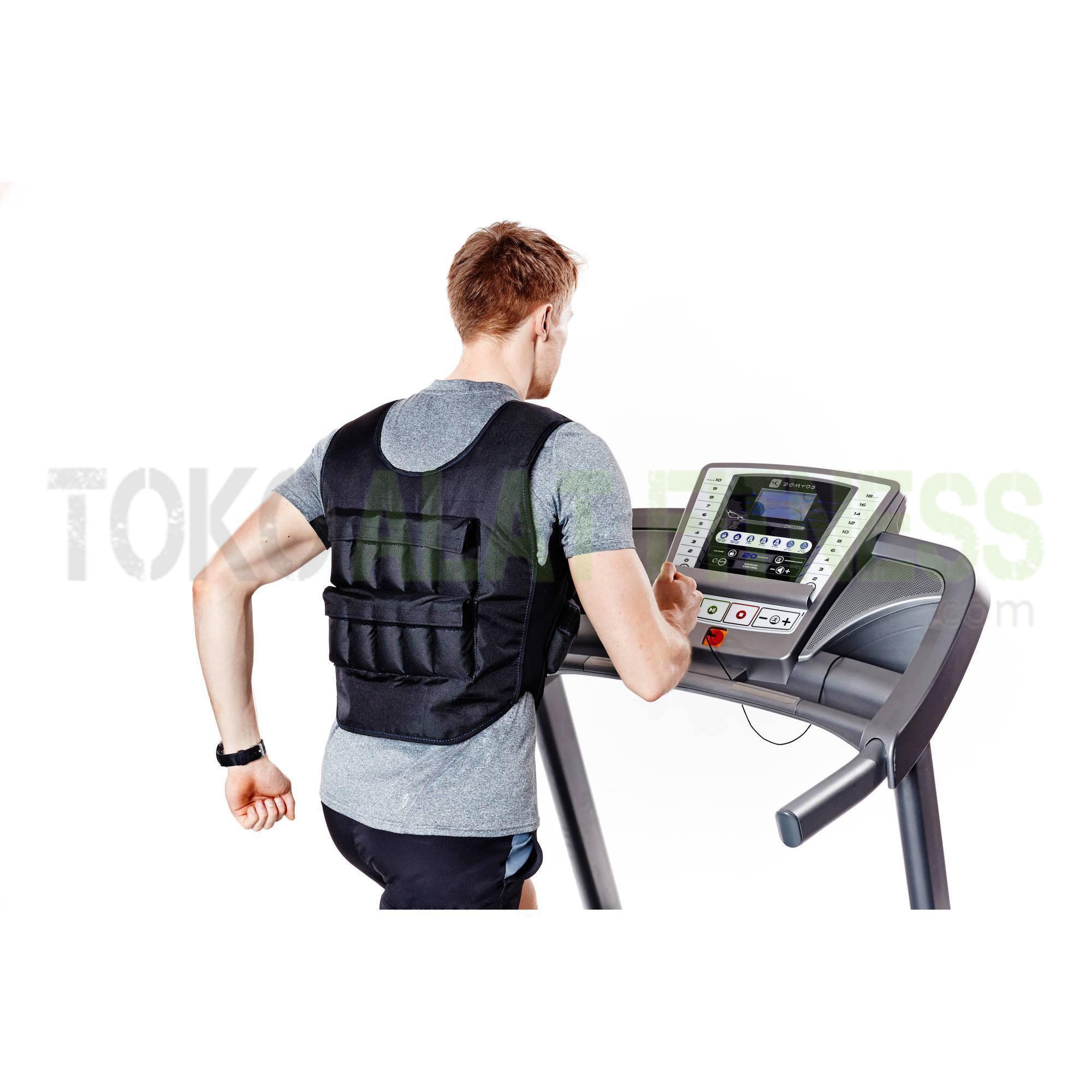 rompi pemberat domyos wtm 8 - Weight Vest/Rompi Pemberat 10kg Domyos - ASSAW39