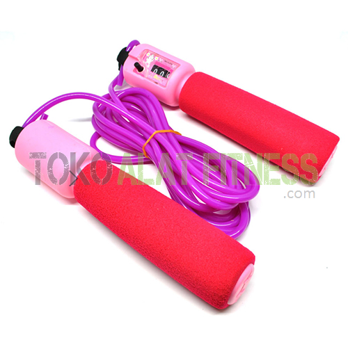 skip soft hand pink wtr - Skip Soft Hand With Counter Pink Jump Rope - ASSJP22C