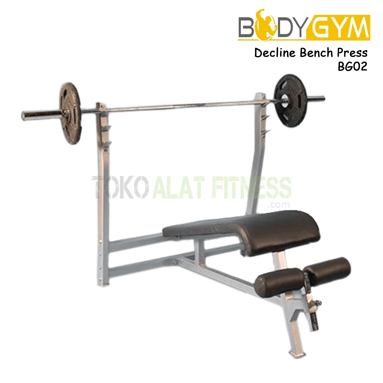 BG02 Decline BP 2 - Body Gym Decline Bench Press BG02 ( Lokal )
