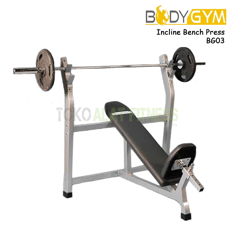 BG03 Incline BP 2 - Body Gym Incline Bench Press BG03 ( Lokal )
