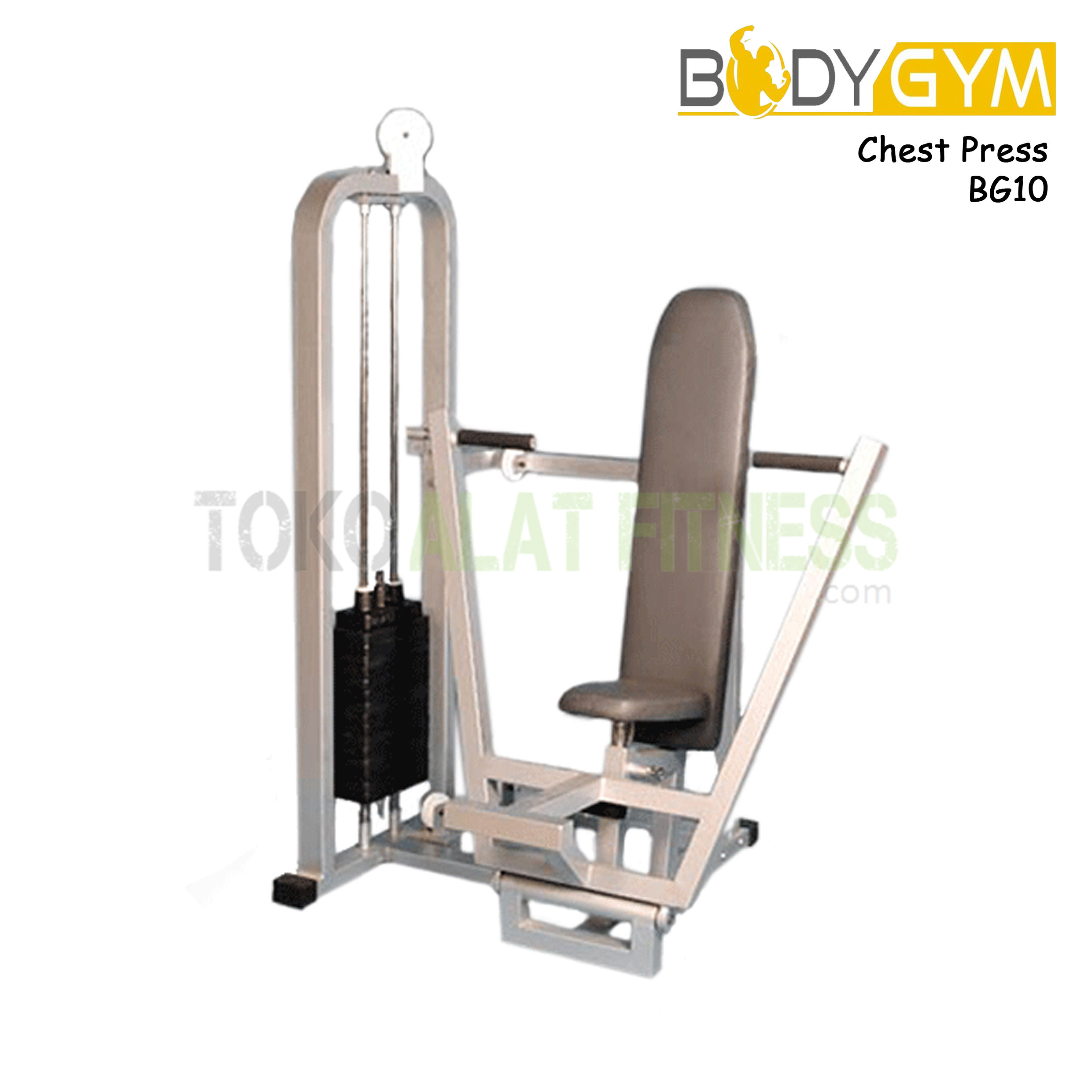 BG10 Chest Press 2 - Body Gym Chest Press ( Lokal ) - BG10