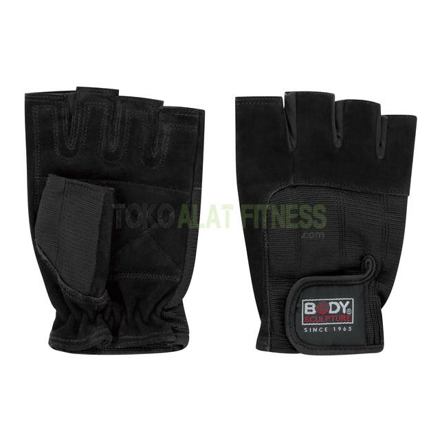 Spandek Leather Fitness Gloves XL Body Sculpture wtm - Spandek Leather Fitness Gloves M Body Sculpture