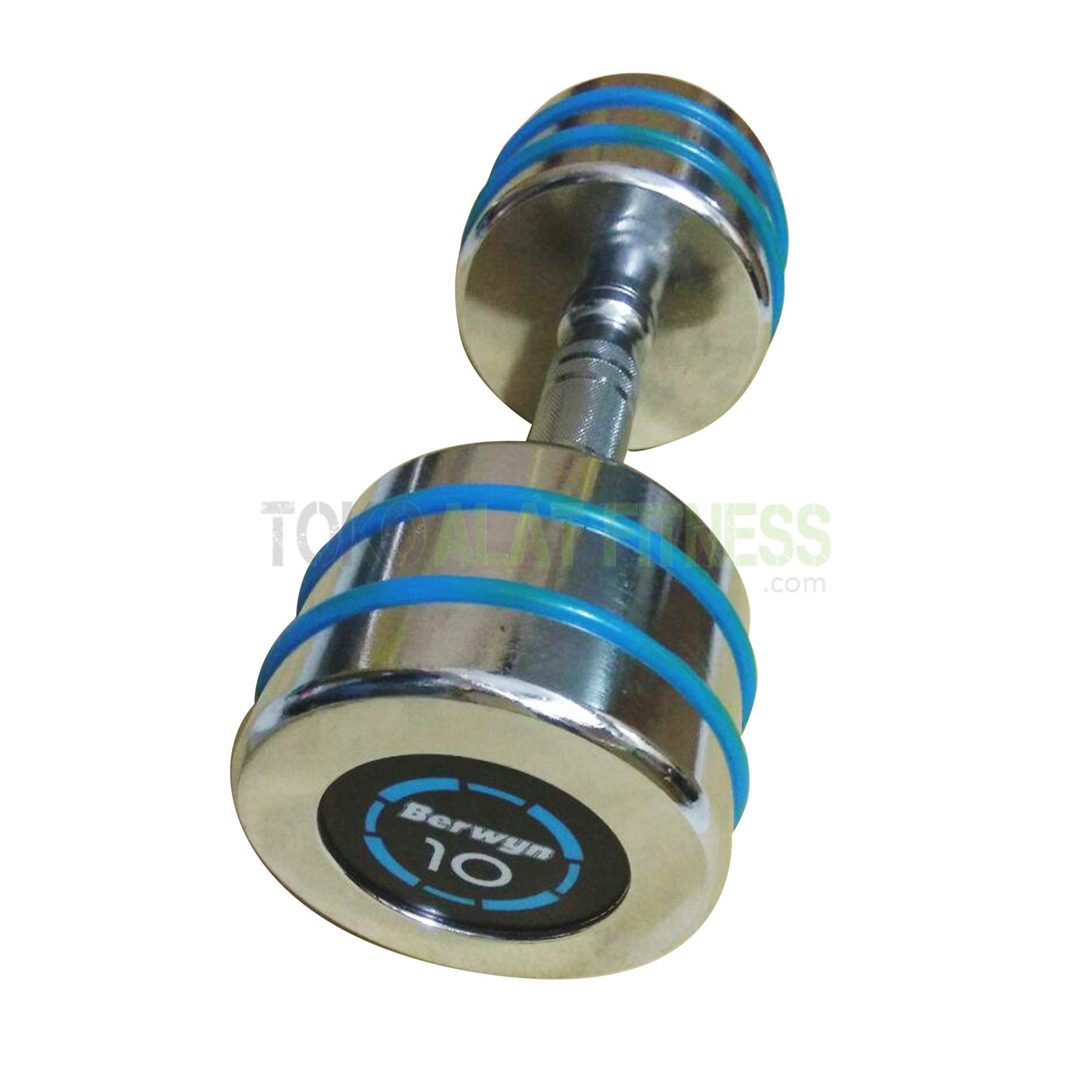 berwyn dumbell 10kg wtm - Dumbell Chrome 10kg Berwyn - ASSD48