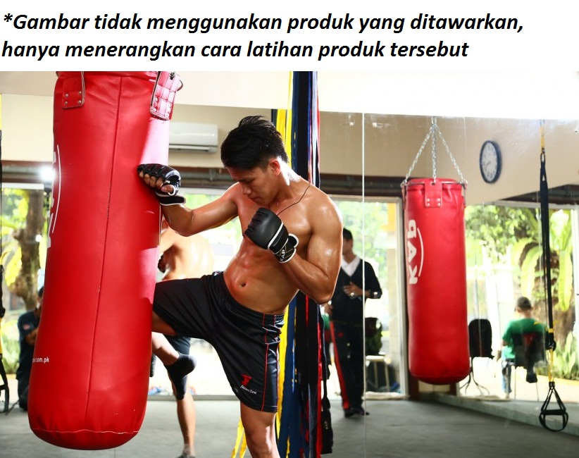 gloves MMA workout 2 - Samsak uk L 80cm Biru, Emerlast