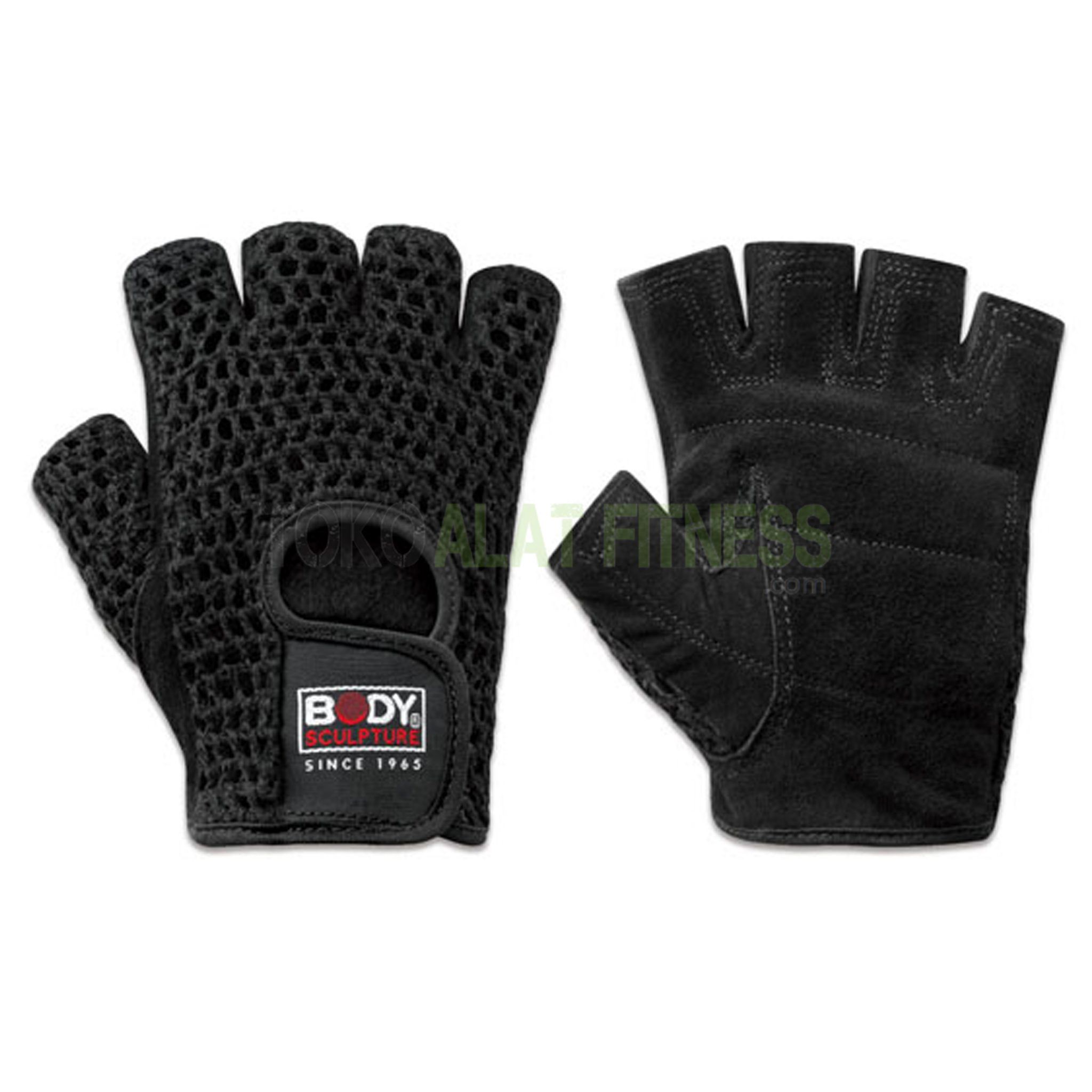 leather fitness gloves net wtm 2 - Leather Fitness Gloves Nets XL Body Sculpture