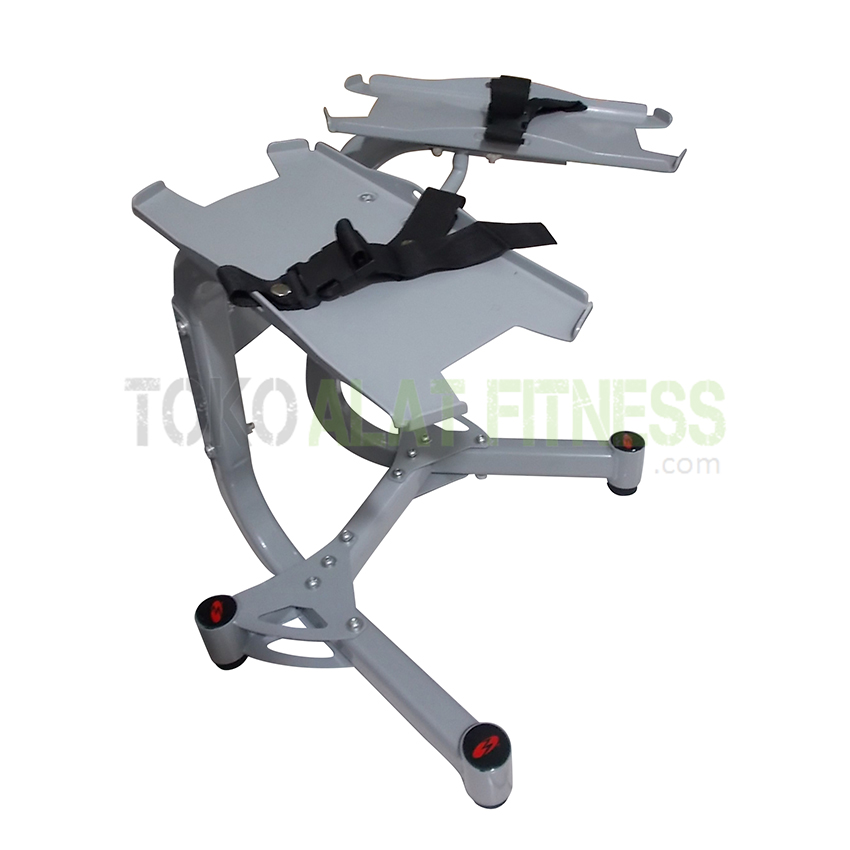 1 wtm - Adjustable Dumbell Stand Bowflex