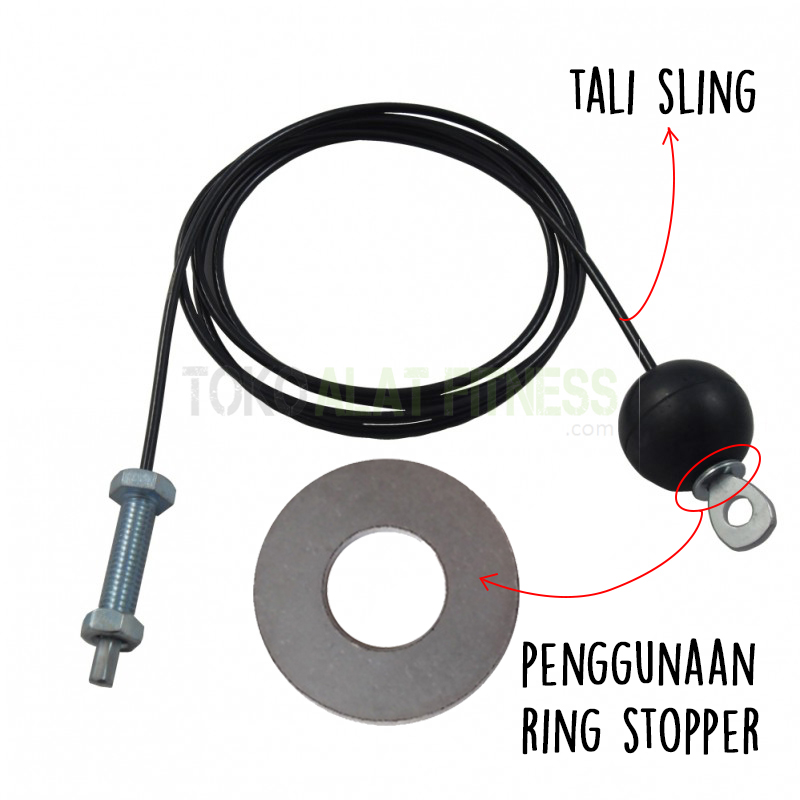 Sparepart Alat Fitess ring pengunaan wtm - Ring Stopper Body Gym