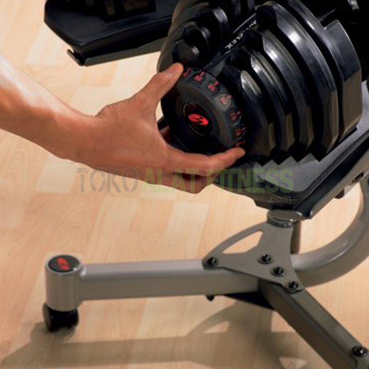 dumbell stand pemakaian - Adjustable Dumbell Stand Bowflex