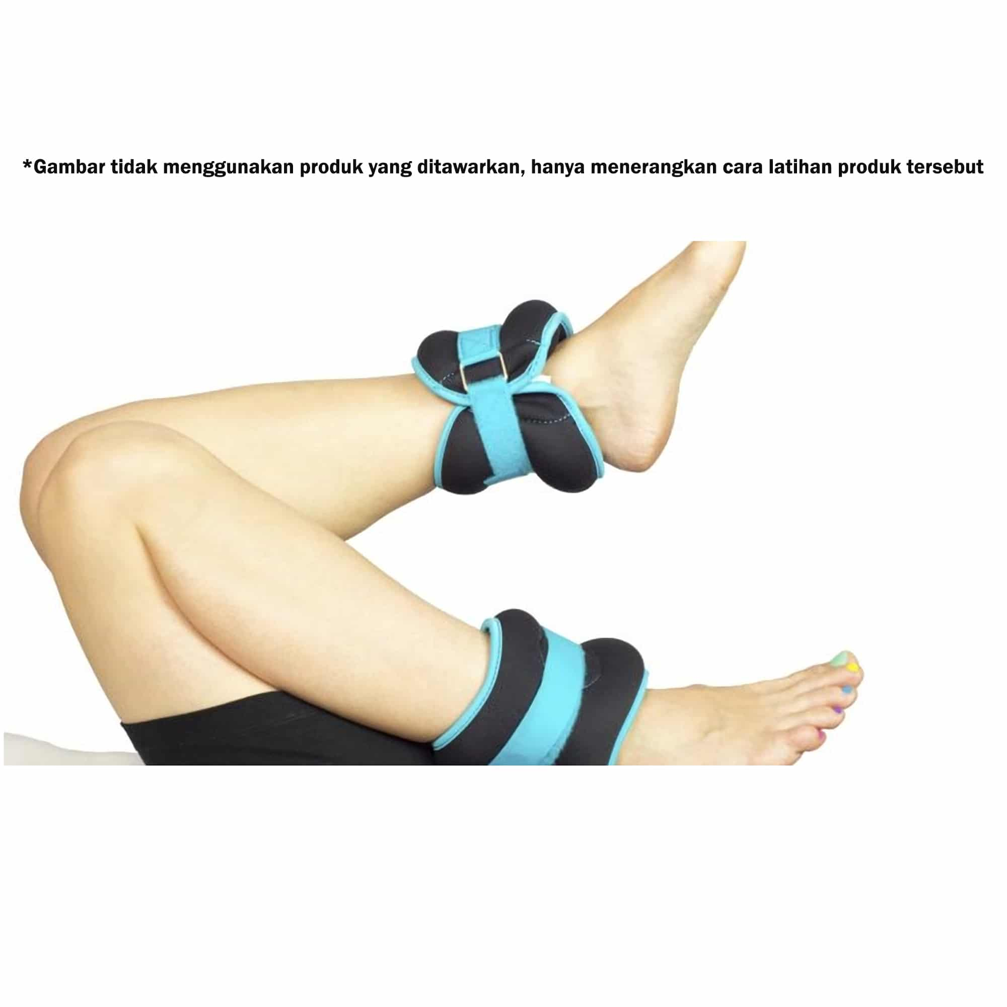 exsercise wtm 5 - Ankle Weight/Foot Band 3kg Garis Biru Kettler - ASSAW26D