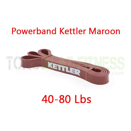 powerband kettler maroon 40 80 Lbs spek wtm - Powerband Firm (Maroon) Kettler