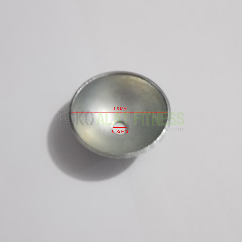 stopper setengah bola spek wtm - Ring Stopper 1/2 Bola Besi Body Gym - SPT94