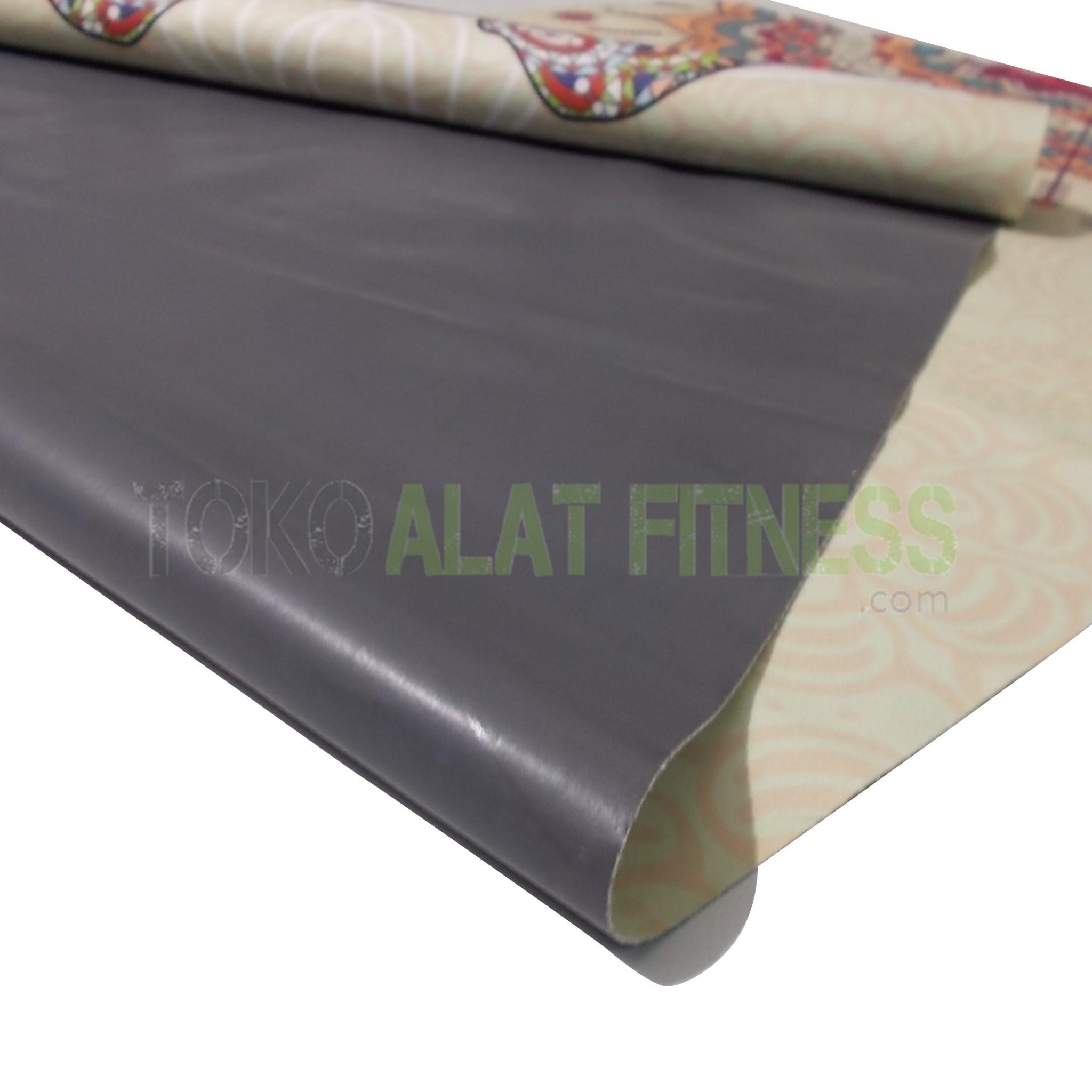 4 wtm 1 - Yoga Mat Rubber Plastik, Cream  Body Gym