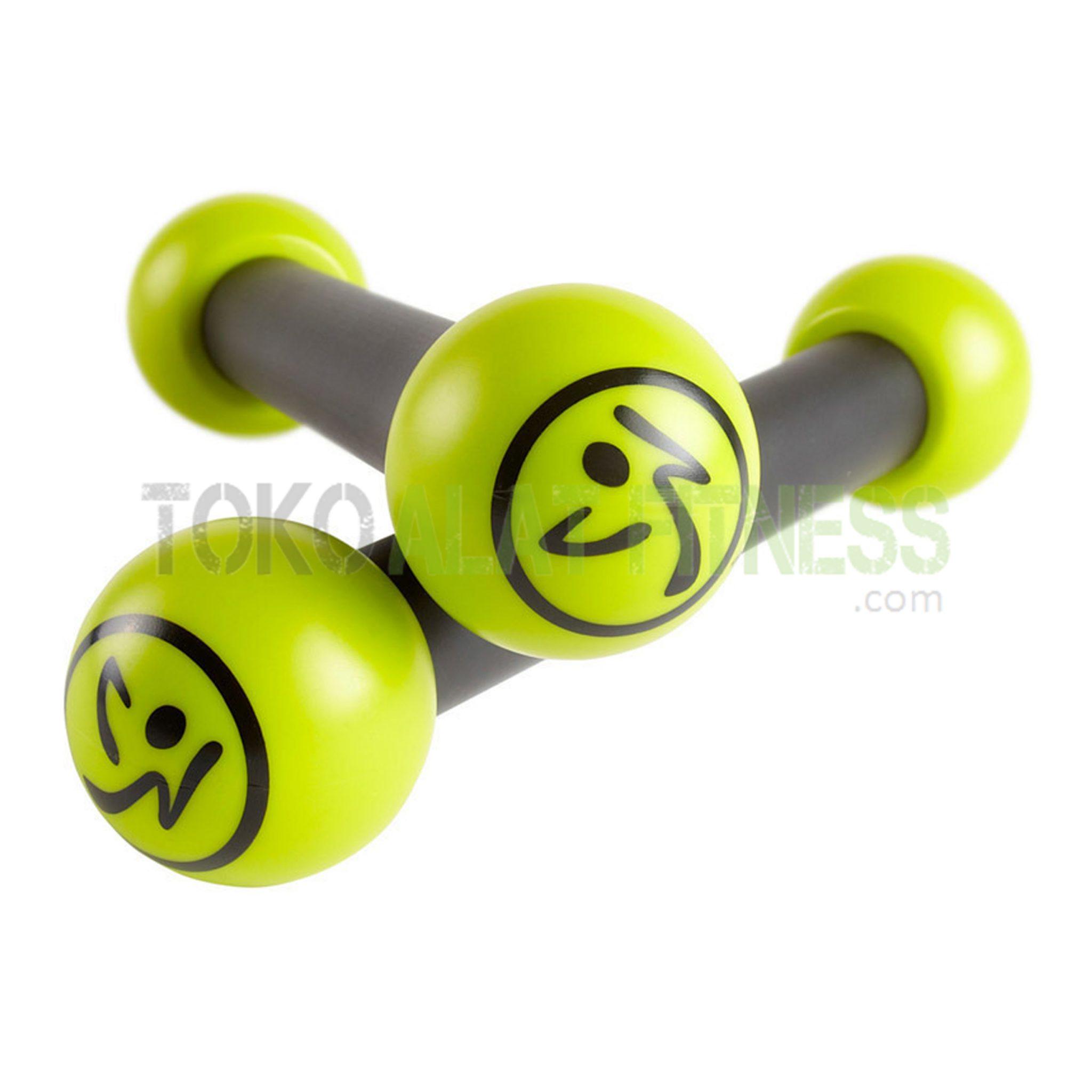 4 - Zumba Fitness Exhilarate Box Contents Set Body Gym