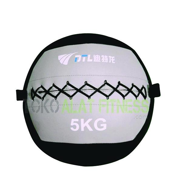 5kg wtr - Medicine Ball Wall Ball 5kg Silver Body Gym