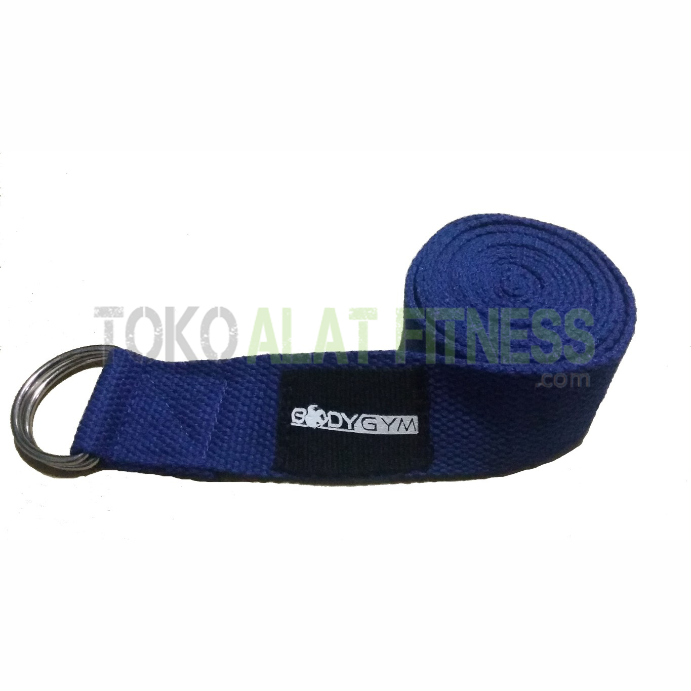 Body Gym Yoga Strap 3 wtm - Yoga Strap 3.8 x 180cm Blue Body Gym