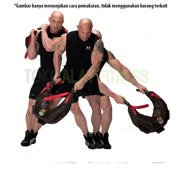 Sand Bag workout wtr b 1 - Bulgarian Power Bag 15kg Body Gym