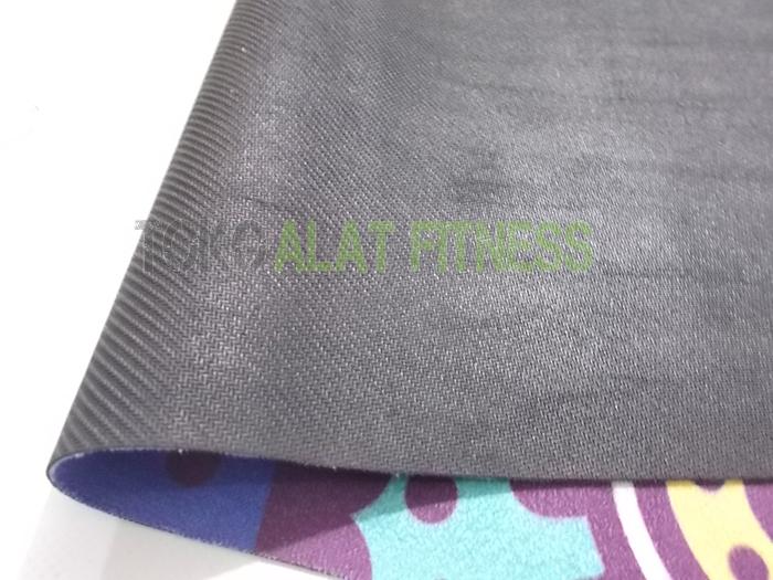 yoga mat motif rubber wtr 4 - Yoga Mat Rubber Motif, Ungu Body Gym