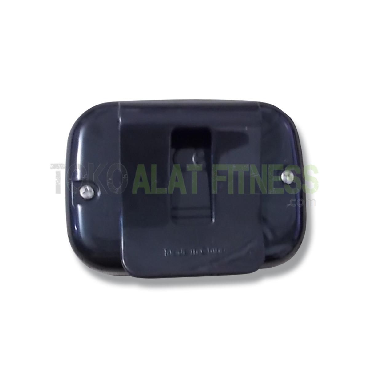 2 wtm - Mini Pedometer With Two Keys, Black Body Gym