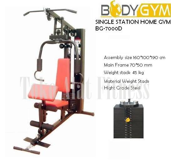 Home Gym 1 Station BGA7000D - Sewa Alat Fitness - Home Gym Single Station SBGA7000D Body Gym