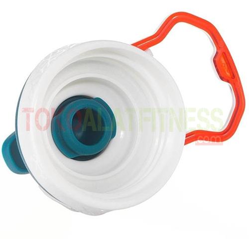 Quechua 1.5L Black 8 wtm - Quechua Botol Minum Quick-Open Aluminium 1.5 L, Hitam