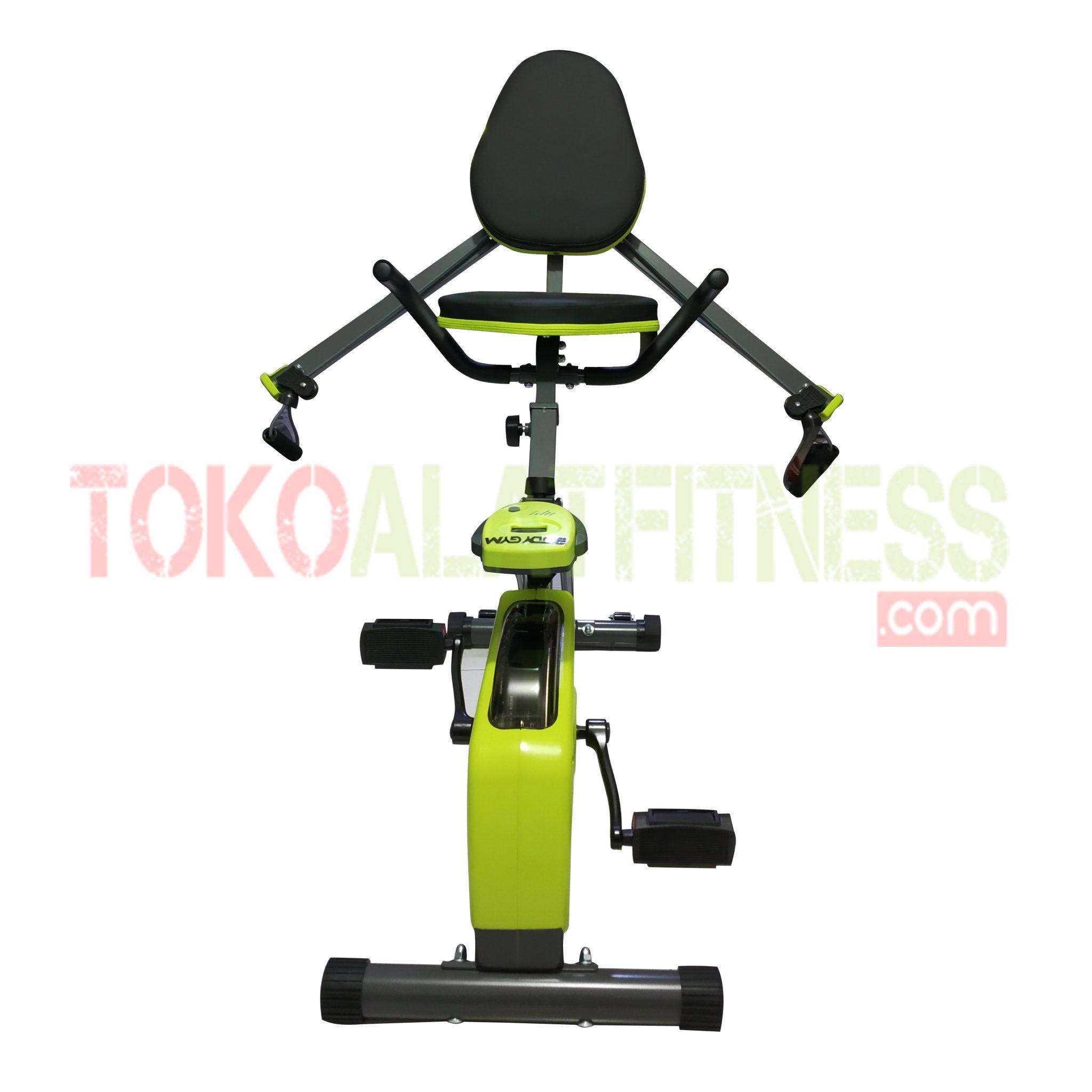 Recumbent Bike ID 630 WTM - Recumbent X Bike Body Gym