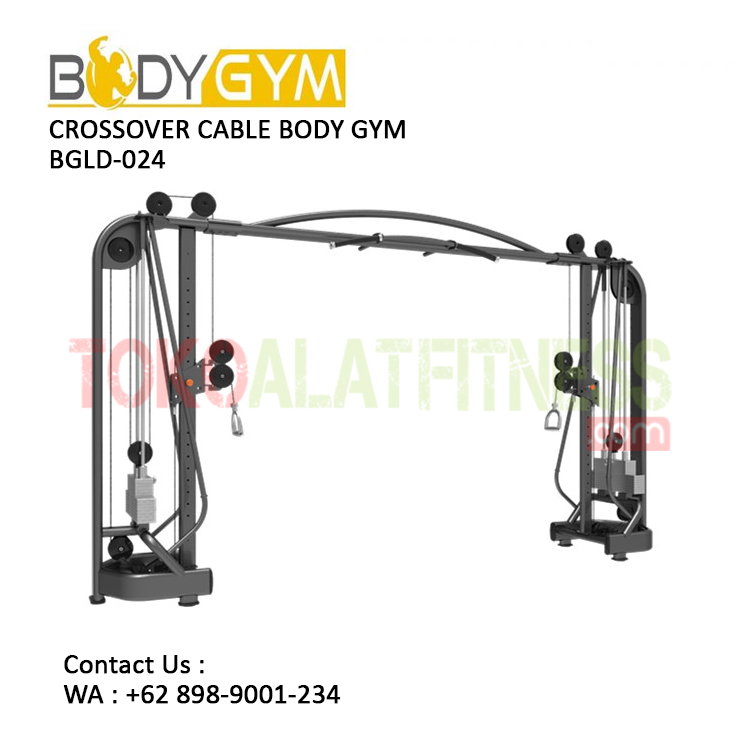 TOKO ALAT FITNESS CROSSOVER CABLE BODY GYM BGLD 024 2 - Crossover Cable Body Gym BGLD-024
