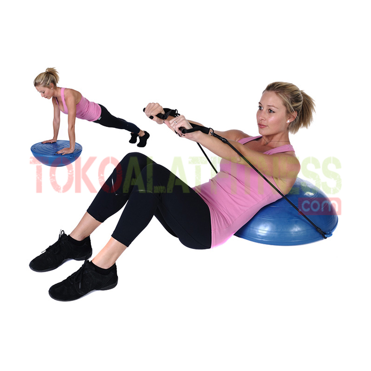 BALANCE BALL WORKOUT WTM - Balance Ball Biru Muda Body Gym