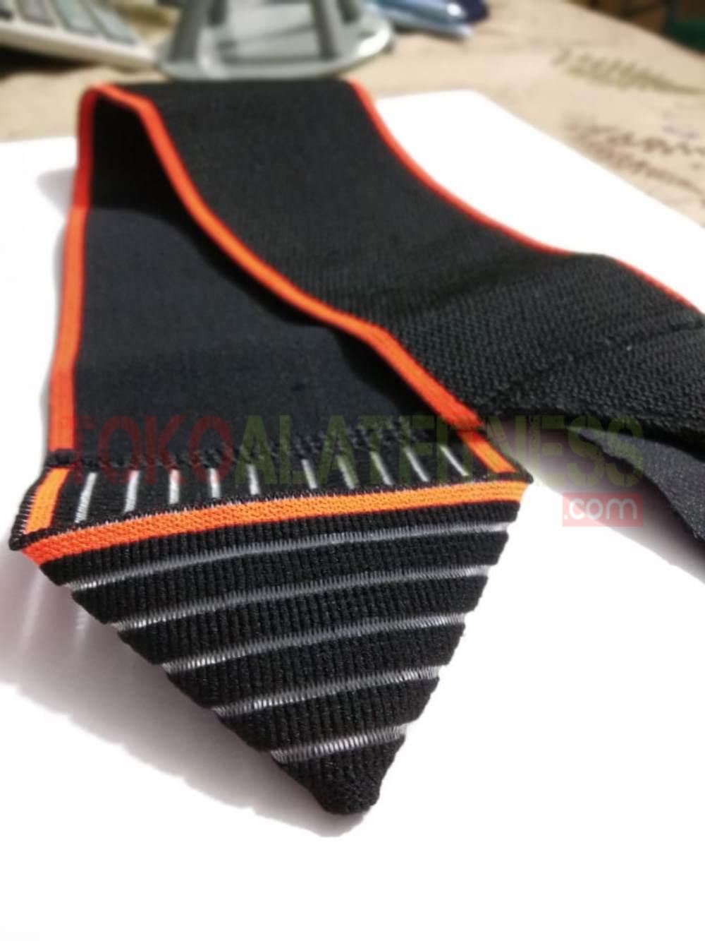 AOLIKES WRIST BAND WTM 7 - Hand Sprain Bandage, Black Orange Warps