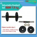 BANNER 75 KG 1 130x130 - Adjustable Dumbell Set Iron 7,5 kg Body Gym