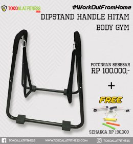 Paket 12 Dipstand Handle 260x280 - Workout Dipstand Push Up Stand Equalizer Paraler Bar with Handle Body Gym