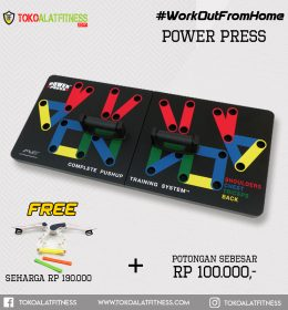 Paket 2 Power Press 260x280 - Workout From Home - Power Press Body Gym