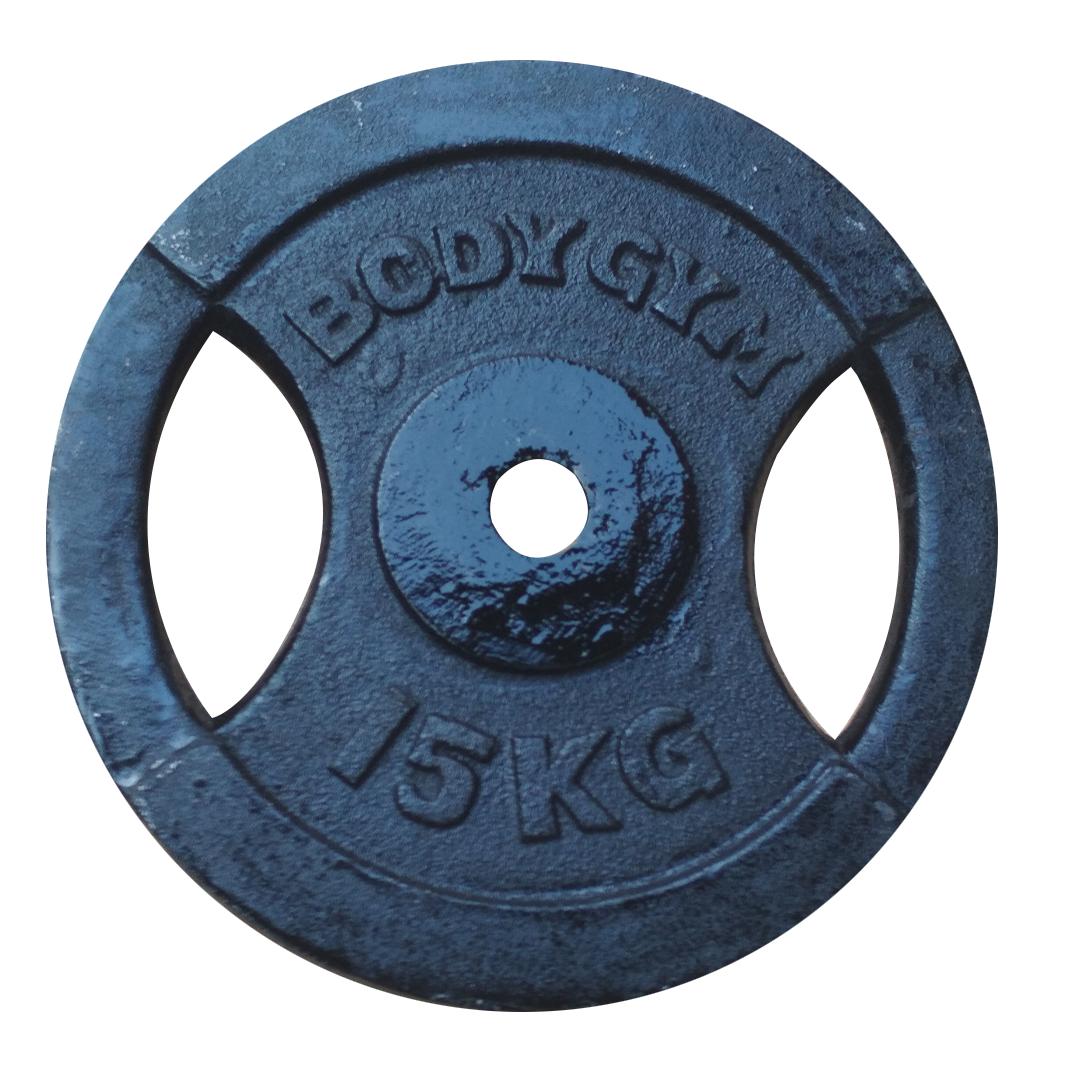 3cm 15kg - Iron Plate 3cm 15 Kg Body Gym