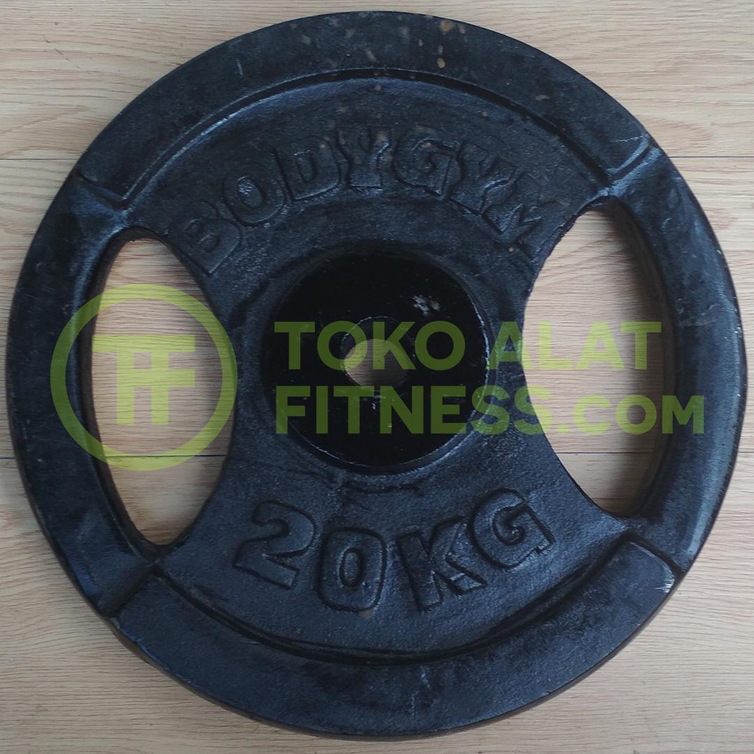 3cm 20kg asli - Iron Plate 3cm 20 Kg Body Gym