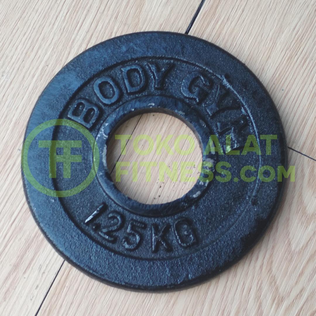 5cm 1.25kg asli - Iron Plate 5cm 1,25 Kg Body Gym - IPB51B