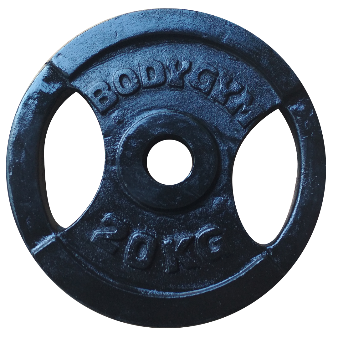 5cm 20kg - Iron Plate 5cm 20 Kg Body Gym - IPB57A