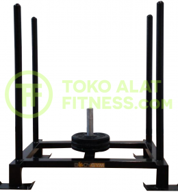Sled Fitness 260x280 - Weight Sled Fitness Body Gym with 3 Iron Plate 10kg (25% off)