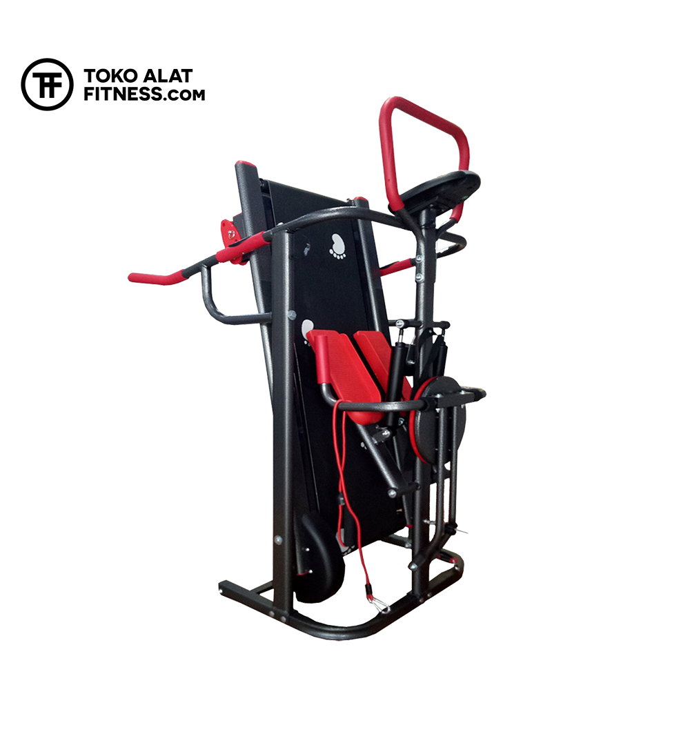 Alat Fitness Premium BGT003 Treadmill Manual 3 Fungsi Body Gym  - Treadmill Manual 3 Fungsi Body Gym