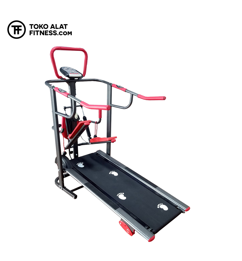 Alat Fitness Premium BGT003 Treadmill Manual 3 Fungsi Body Gym 2 - Treadmill Manual 3 Fungsi Body Gym