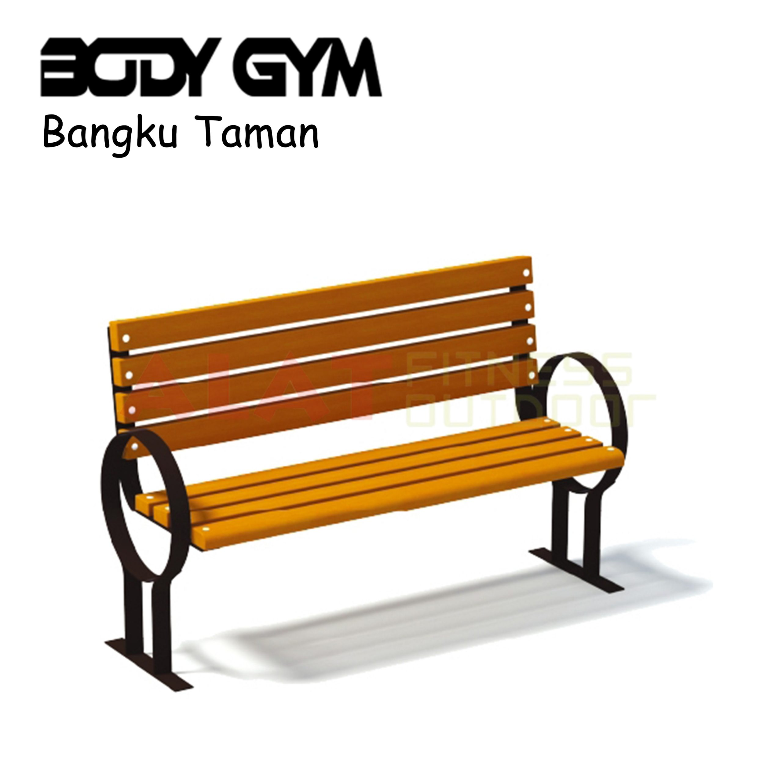 ALAT FITNESS OUTDOOR AFO 43 Bangku Taman scaled - Bangku Taman AFO-43 - Alat Fitness Outdoor