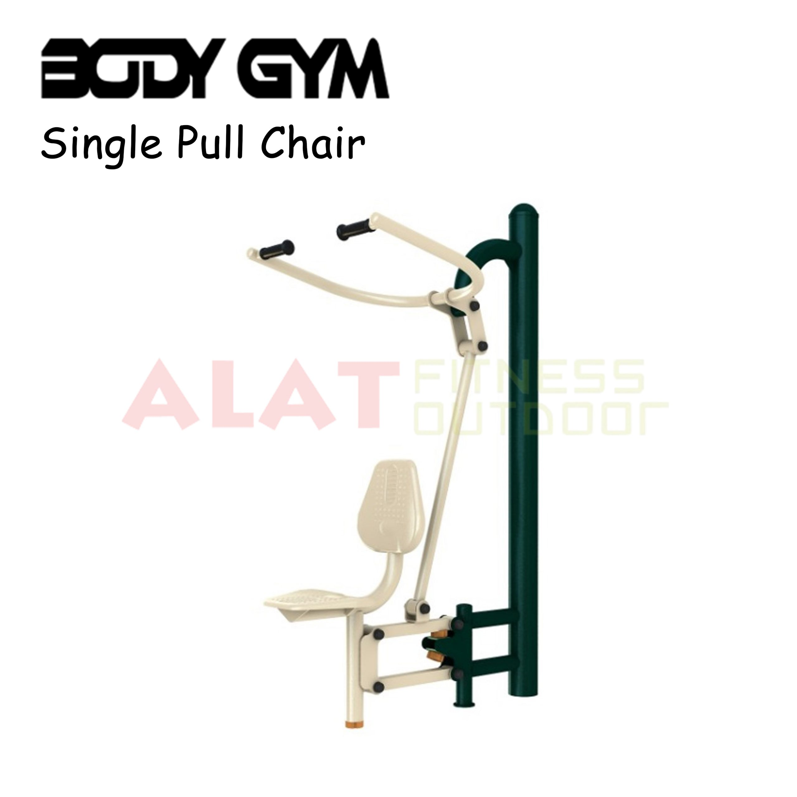 ALAT FITNESS OUTDOOR PREMIUM QUALITY AFO 40 Pull Chair scaled - Single pull Chair - Alat Fitness Outdoor Premium Quality - AFO-40