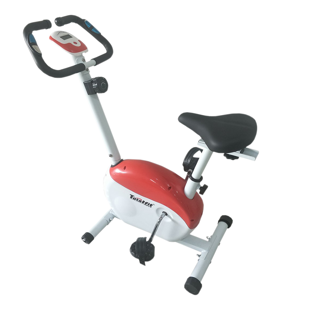 TL 8219 NEW Merah - Sewa Home Use Magnetic Bike / Sepeda Statis Body Gym