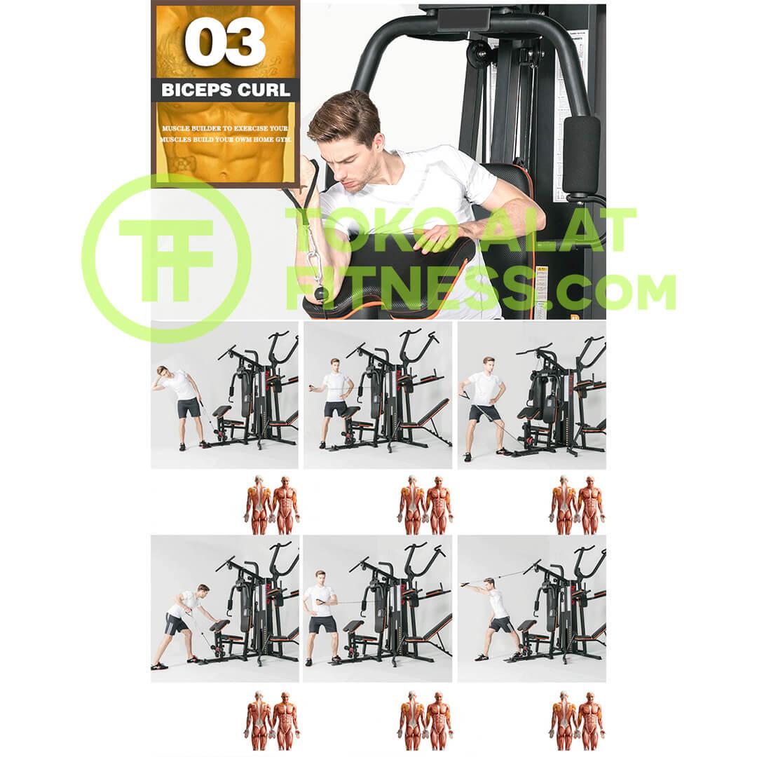 Home Gym 3 Sisi BGD303 Body Gym Premium Quality Alat Fitness Indonesia 4 - Home Gym 3 Sisi Body Gym - BGD303