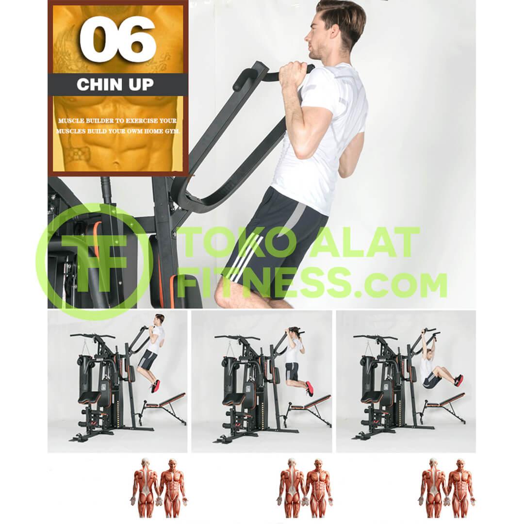 Home Gym 3 Sisi BGD303 Body Gym Premium Quality Alat Fitness Indonesia 5 - Home Gym 3 Sisi Body Gym - BGD303