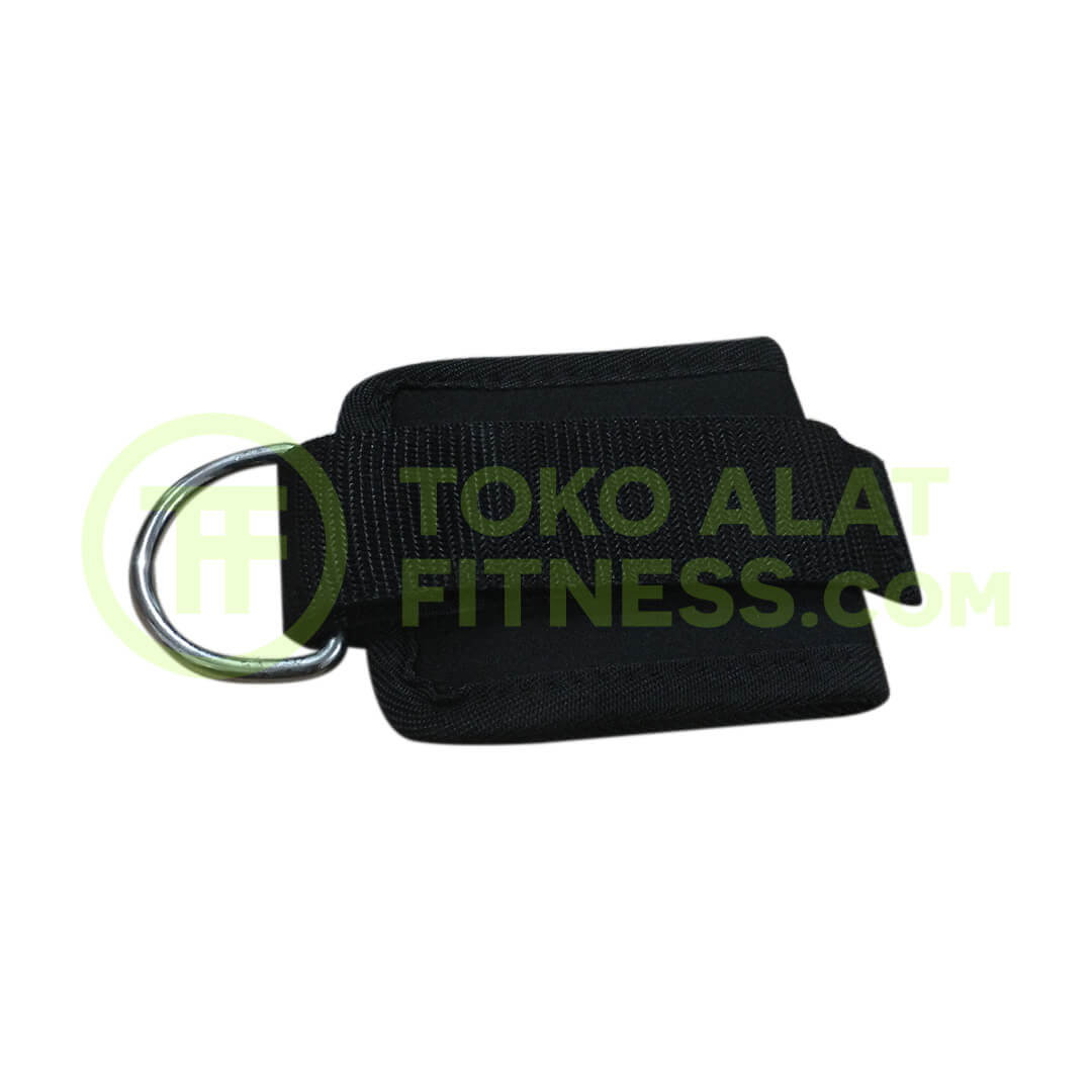 Ankle Lifting Strap Hitam ASSAF37C 2 - Ankle Lifting Strap Hitam Body Gym