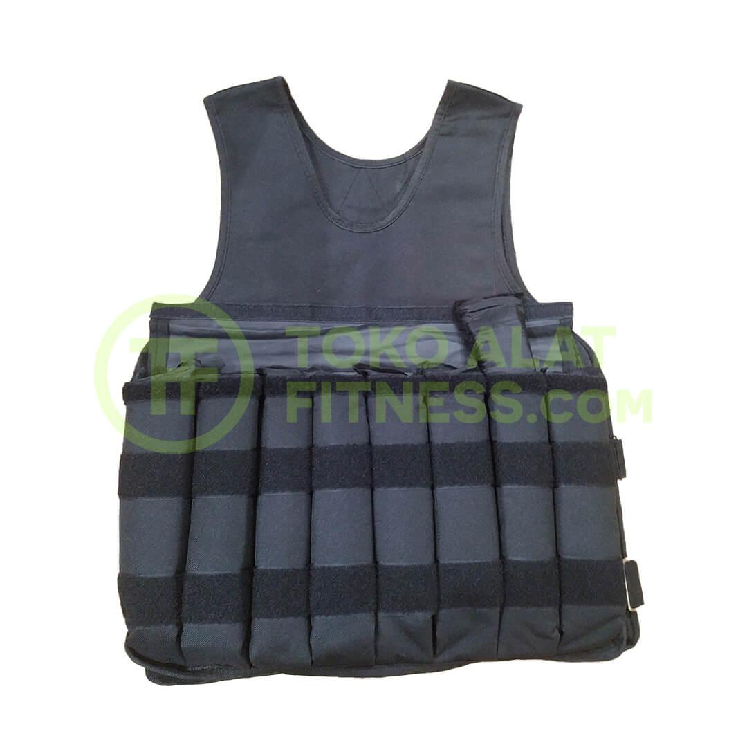 Rompi Pemberat 10 kg Weight Vest Buka Beban - Rompi Pemberat Weight Vest Beban 10 Kg