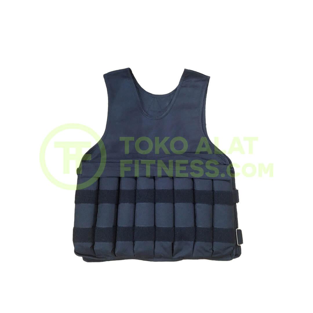 Rompi Pemberat 10 kg Weight Vest Depan - Rompi Pemberat Weight Vest Beban 10 Kg