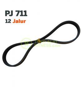 SPAREPART ALAT FITNESS VANBELT V BELT VAN BELT PJ 711 12 JALUR 260x280 - Sparepart Alat Fitness Vanbelt Pj-711 12 Jalur 70cm Body Gym