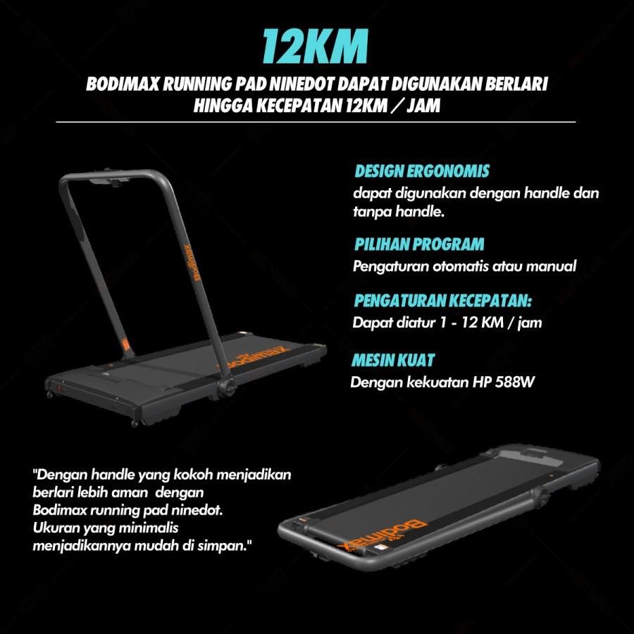 toko alat fitness bodimax running pad promo 3 - Treadmill Bodimax Running Pad