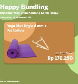 happy bundling ecom 5 260x280 - Happy Bundling Yoga Mat 4 mm + Fat Calliper